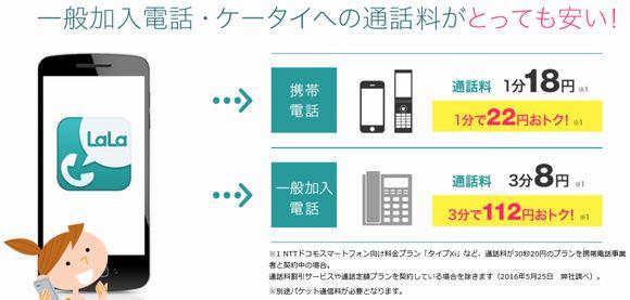 おすすめ格安SIMのmineoの現在は無料通話アプリの通話料金